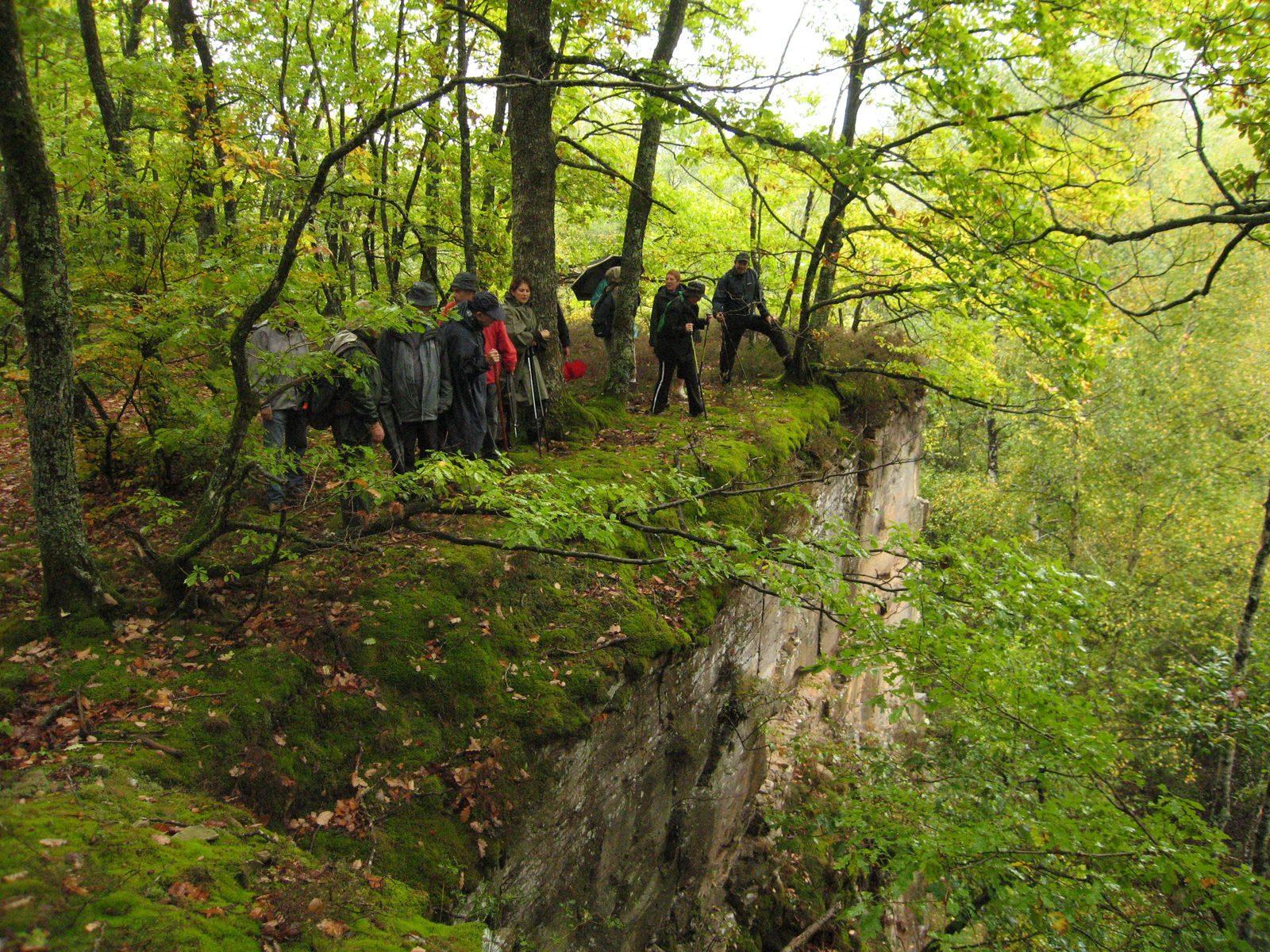 Randonnée à Saint-Sernin-du-Bois